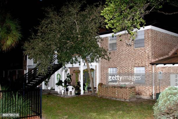 The rear of the apartment building where Sayfullo Habibullaevic Saipov the 29yearold driver of a truck that plowed through a bike path in lower...
