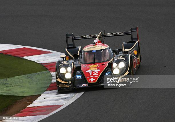 The Rebellion Racing Lola B12/60 Coupe driven by Nicolas Prost of France, Nick Heidfeld of Germany and Neel Jani of Switzerland during the FIA World...
