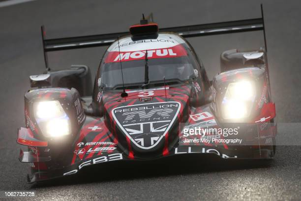 The Rebellion Racing R13 of Mathias Beche Thomas Laurent and Gustavo Menezes in action during practice for the WEC 6 Hours of Shanghai round 5 of the...