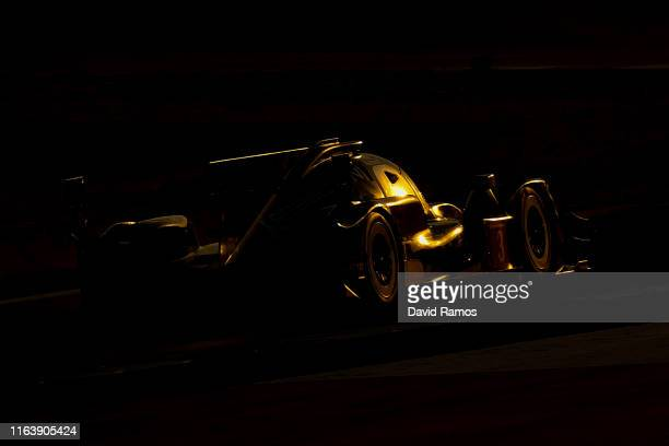 The Rebellion Racing Rebellion R13 of Felipe Nasr of Brazil Bruno Senna of Brazil and Gustavo Menezes of The United States in action during the first...