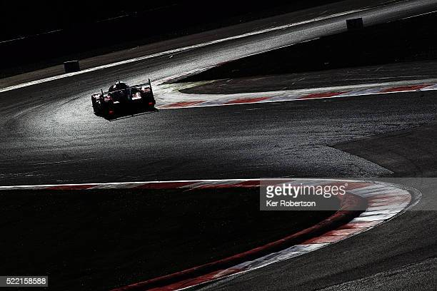 The Rebellion Racing ROne of Nick Heidfled Nicolas Prost and Nelson Piquet Jnr drives during the FIA World Endurance Championship Six Hours of...