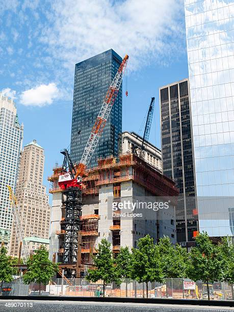 The rebuilding of the World Trade Center Complex... New York City.