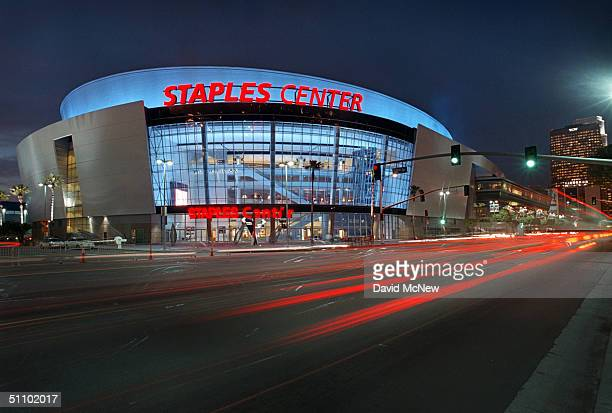The Recently Completed Staples Center Areana As Seen February 1 Will Be The Site Of The Democratic National Convention This Summer In Los Angeles...