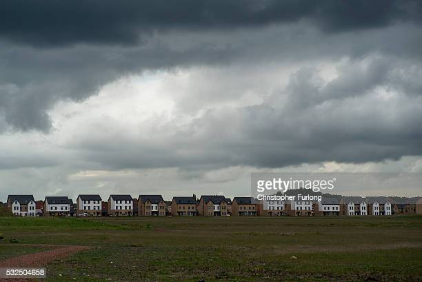 The reclaimed land of the former Orgreave Coking plant which has now been redeveloped for modern housing as the coking plant was the focal point of...