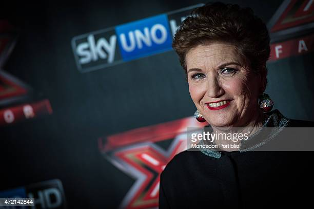 The record producer Mara Maionchi during the final of the the talent show X Factor Assago Italy 11th December 2014