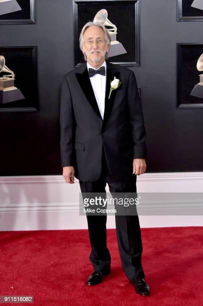 The Recording Academy and MusiCares President/CEO Neil Portnow attends the 60th Annual GRAMMY Awards at Madison Square Garden on January 28 2018 in...