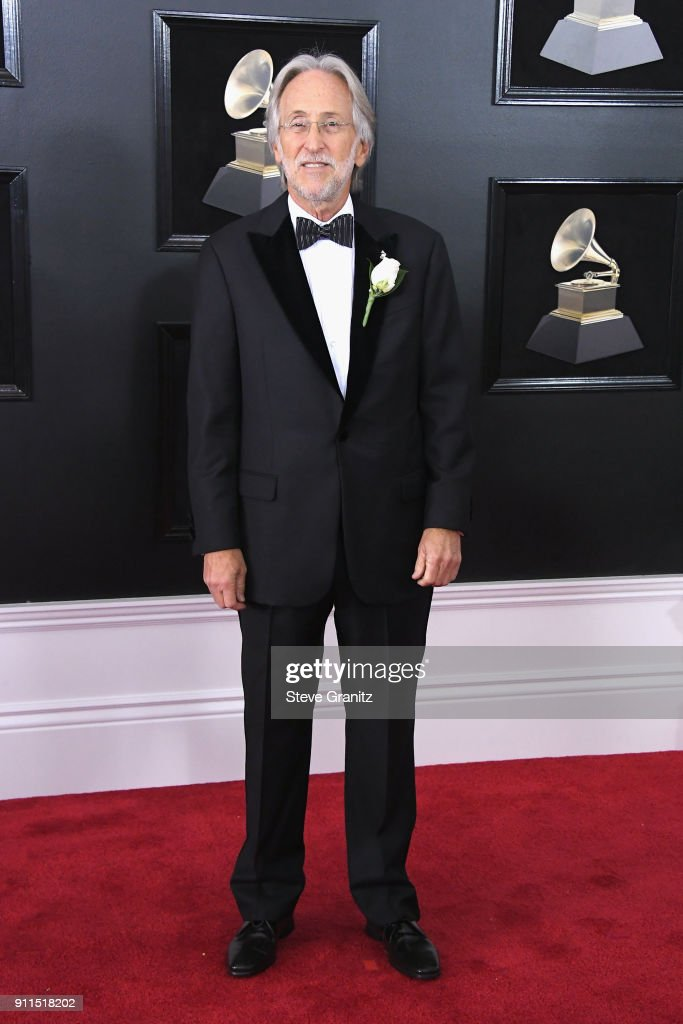 The Recording Academy and MusiCares President/CEO Neil Portnow attends the 60th Annual GRAMMY Awards at Madison Square Garden on January 28, 2018 in New York City.