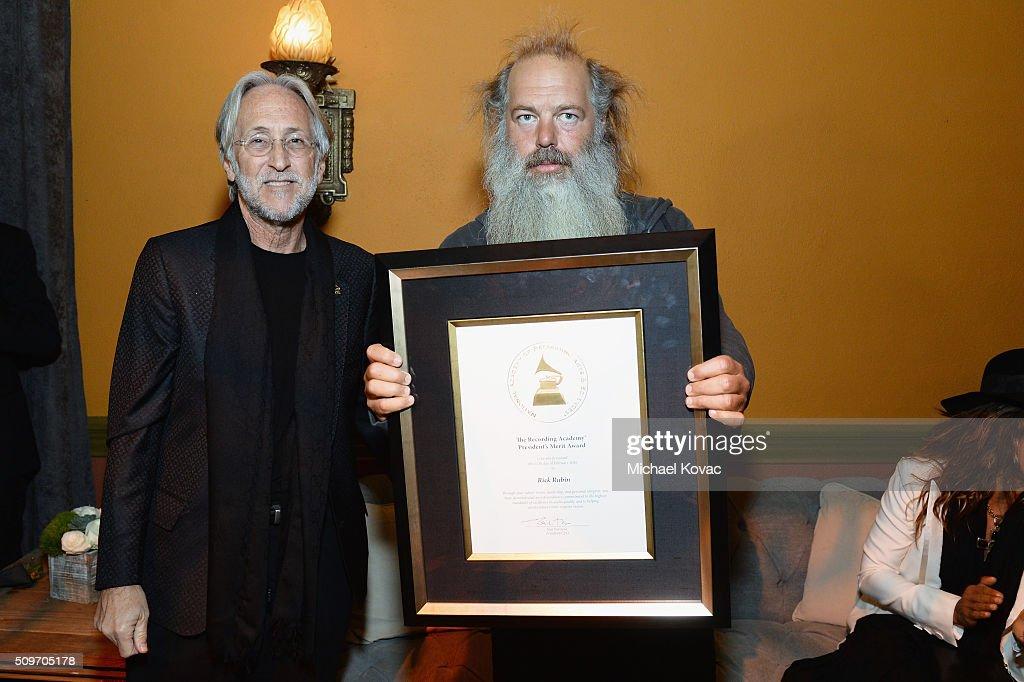 The 58th GRAMMY Awards - P&E Wing Event Honoring Rick Rubin : News Photo
