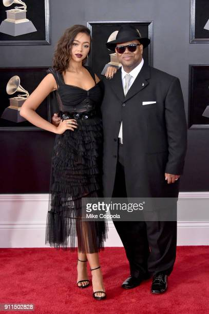 The Recording Academy's chairman of the board Jimmy Jam attends the 60th Annual GRAMMY Awards at Madison Square Garden on January 28 2018 in New York...