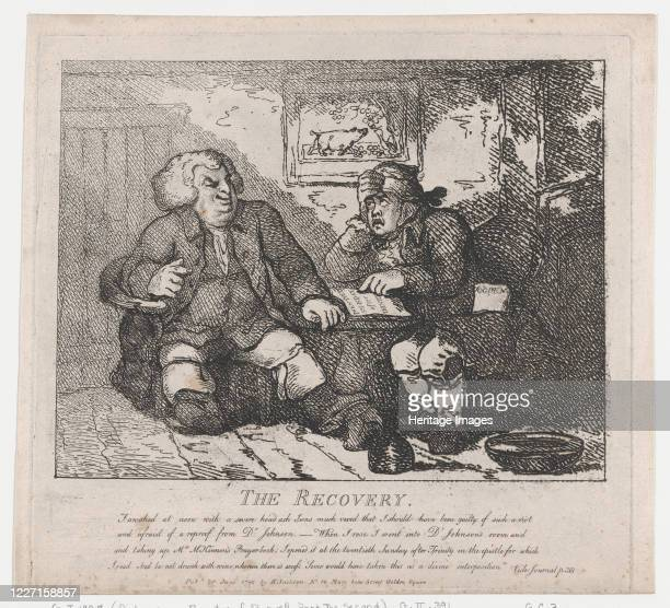 The Recovery June 20 1786 Artist Thomas Rowlandson