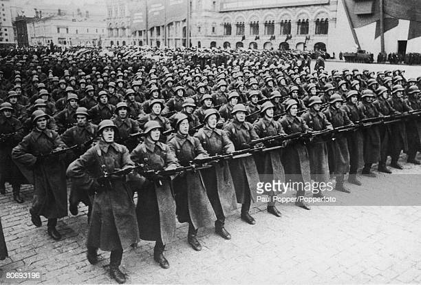 The Red Army on the march circa 1945