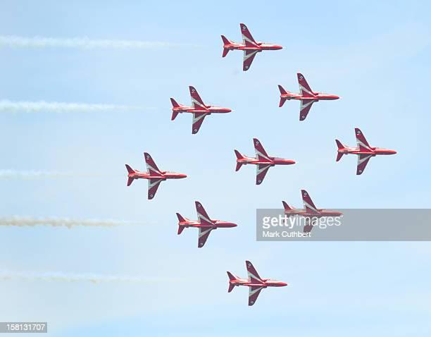 The Red Arrows At The Biggin Hill Air Fair.