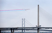 south queensferry scotland red arrows fly