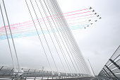 south queensferry scotland red arrows perform
