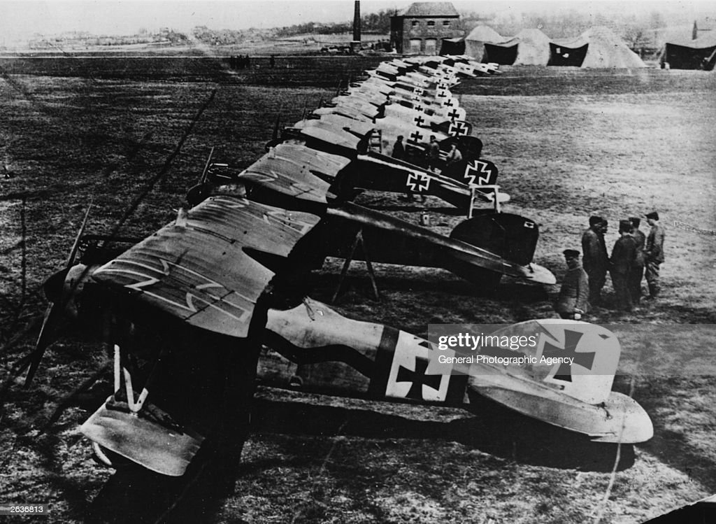 The Red Baron's 'Flying Circus'.