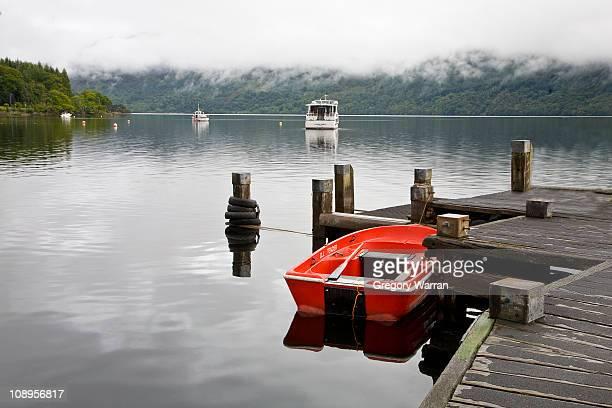 The Red Boat on Loch Lomond