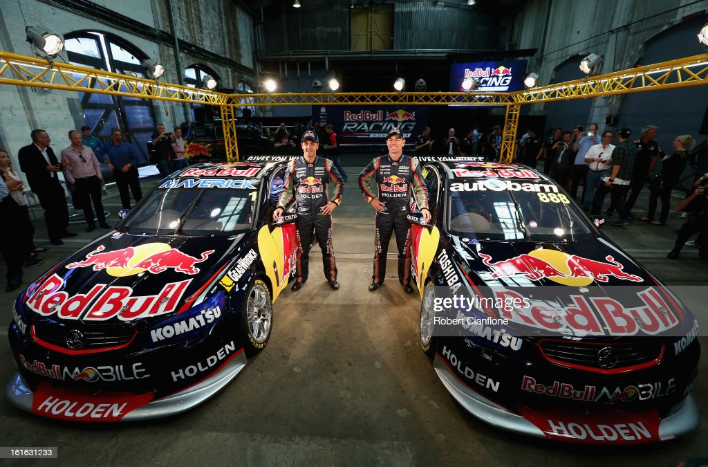 Red Bull Racing Australia V8 Supercar Launch Photos and Images ...