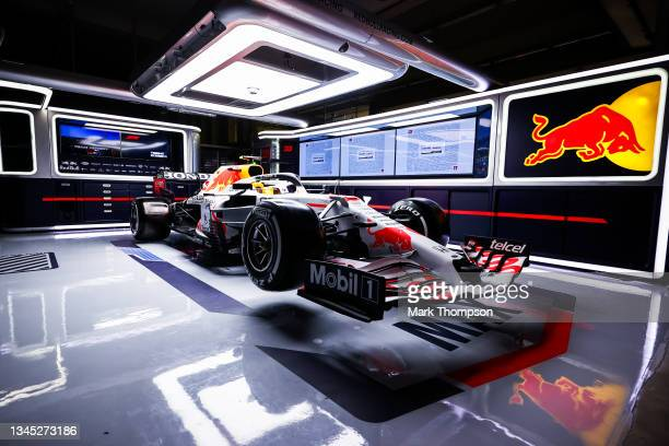 The Red Bull Racing team launch a special livery to say Thank You to their engine supplier Honda during previews ahead of the F1 Grand Prix of Turkey...