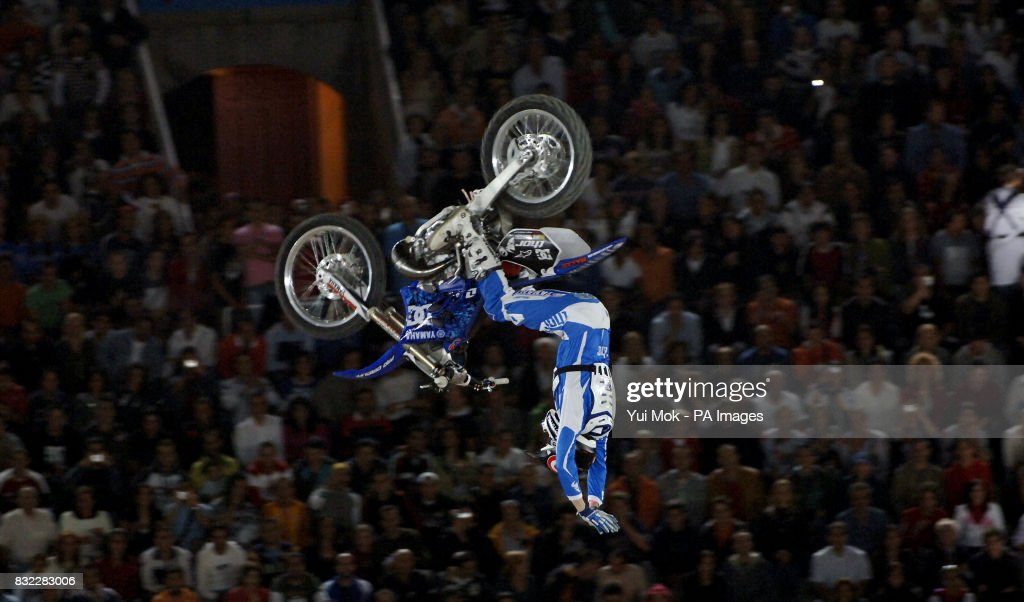 the red bull x fighters motocross freestyle international event at news photo getty images. Black Bedroom Furniture Sets. Home Design Ideas