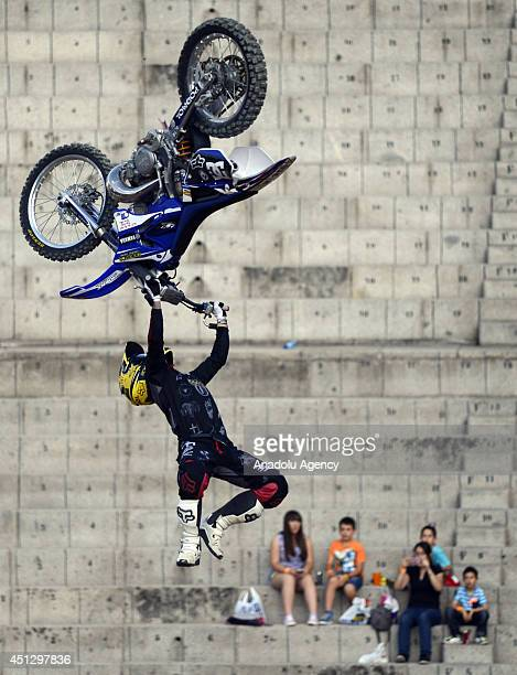 The Red Bull XFighters World Tour Madrid stage was held at Las Ventas which is regarded as the home of bullfighting in Spain on June 27 2014