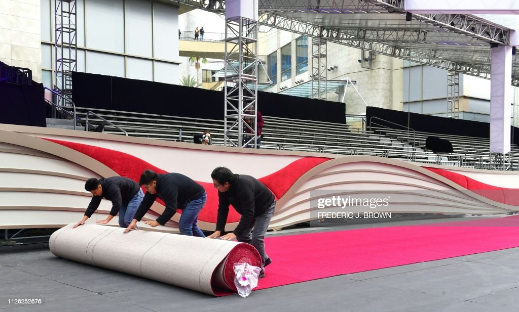 CA: 91st Annual Academy Awards - Red Carpet Roll Out