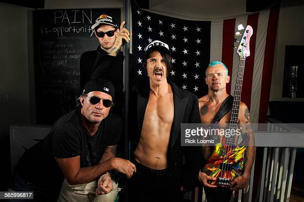 The Red Hot Chili Peppers are Chad Smith drummer guitarist Josh Klinghoffer singer Anthony Kiedis and bass player Michael Flea Balzary They are set...
