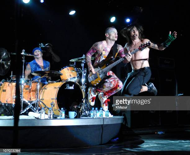 The Red Hot Chili Peppers during Lollapalooza 2006 - Day 3 at Grant Park in Chicago, Illinois, United States.