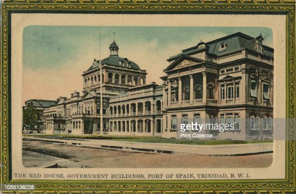 The Red House, Government Buildings, Port of Spain, Trinidad, B.W.I.', , early 20th century. View of colonial administrative buildings in what is now...