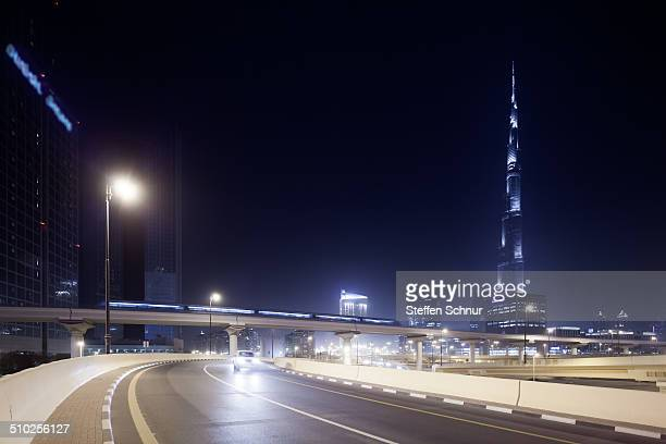 The Red Line is one of the two lines on the Dubai Metro network in Dubai, United Arab Emirates. Burj Khalifa, known as Burj Dubai prior to its...