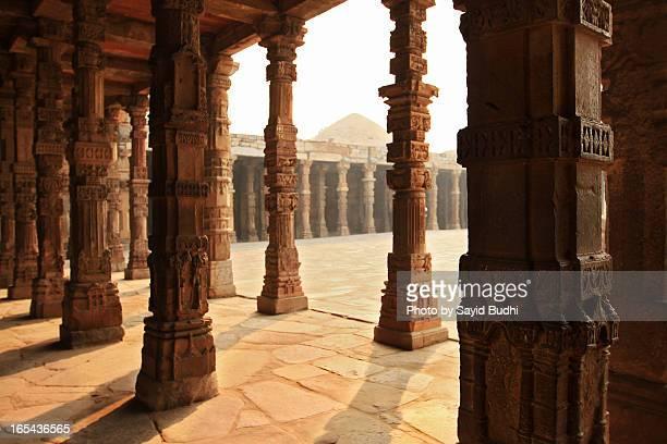 The Red Sandstone Pillars