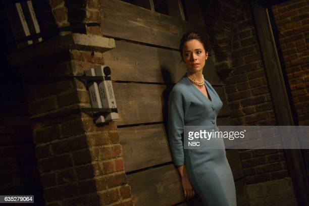 TIMELESS 'The Red Scare' Episode 115 Pictured Abigail Spencer as Lucy Preston