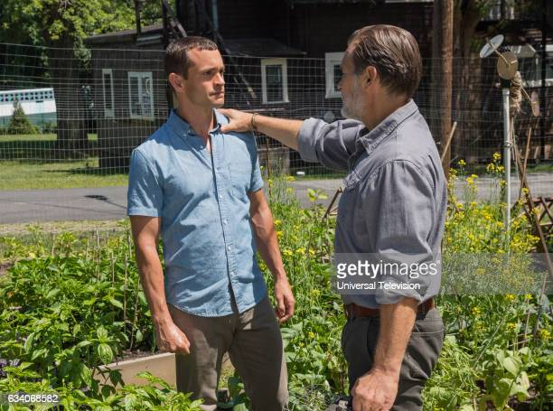 THE PATH The Red Wall Episode 204 Pictured Hugh Dancy as Cal Roberts James Remar as Kodiak