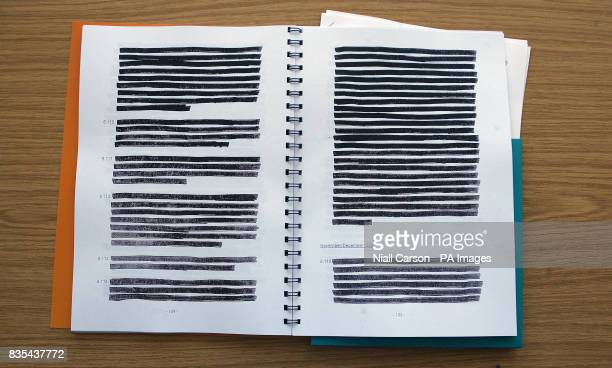 The redacted report on the Monageer Inquiry which was published at the Department of Health in Dublin
