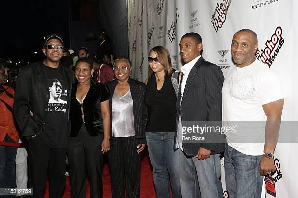 The Redding Family during 2006 Billboard R B Hip Hop Awards at Renaissance Waverly Hotel in Atlanta Georgia United States
