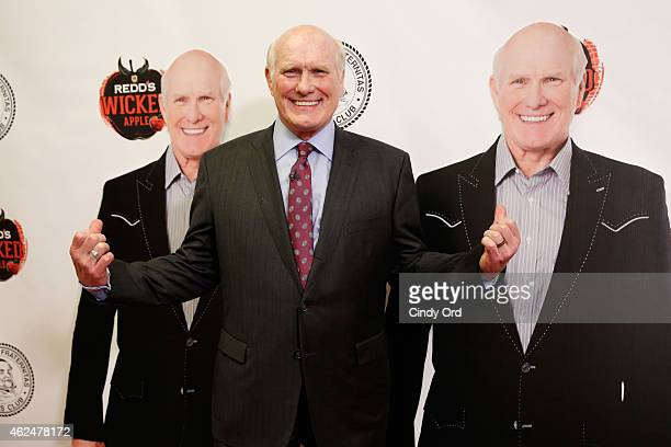 The Redd's Wicked Apple photo booth adds excitement at the Friars Club Roast of Terry Bradshaw where Terry Bradshaw poses with multiple Terry's...