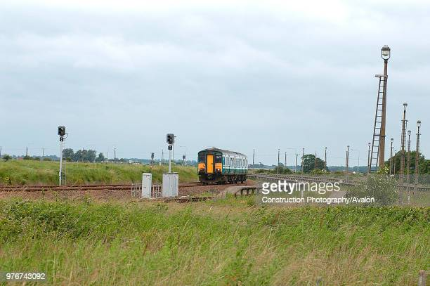 The reduced train usage caused by the increase in motor car ownership is well shown by the arrival at Great Yarmouth of a train from Norwich as it...