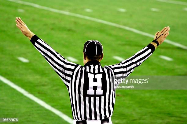the ref - american football referee stock pictures, royalty-free photos & images