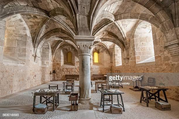 the refectory - abadia mosteiro - fotografias e filmes do acervo