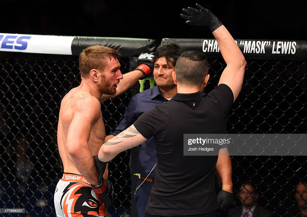 UFC Berlin: Hallmann v Mustafaev : News Photo