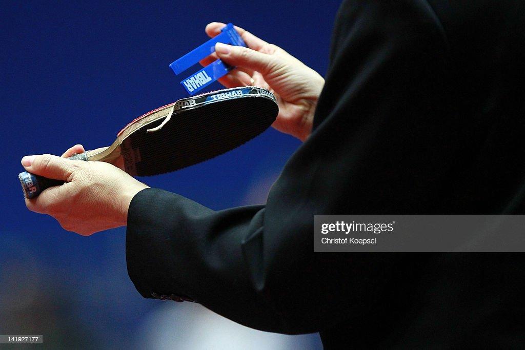 LIEBHERR Table Tennis Team World Cup 2012 - Day 2 : News Photo