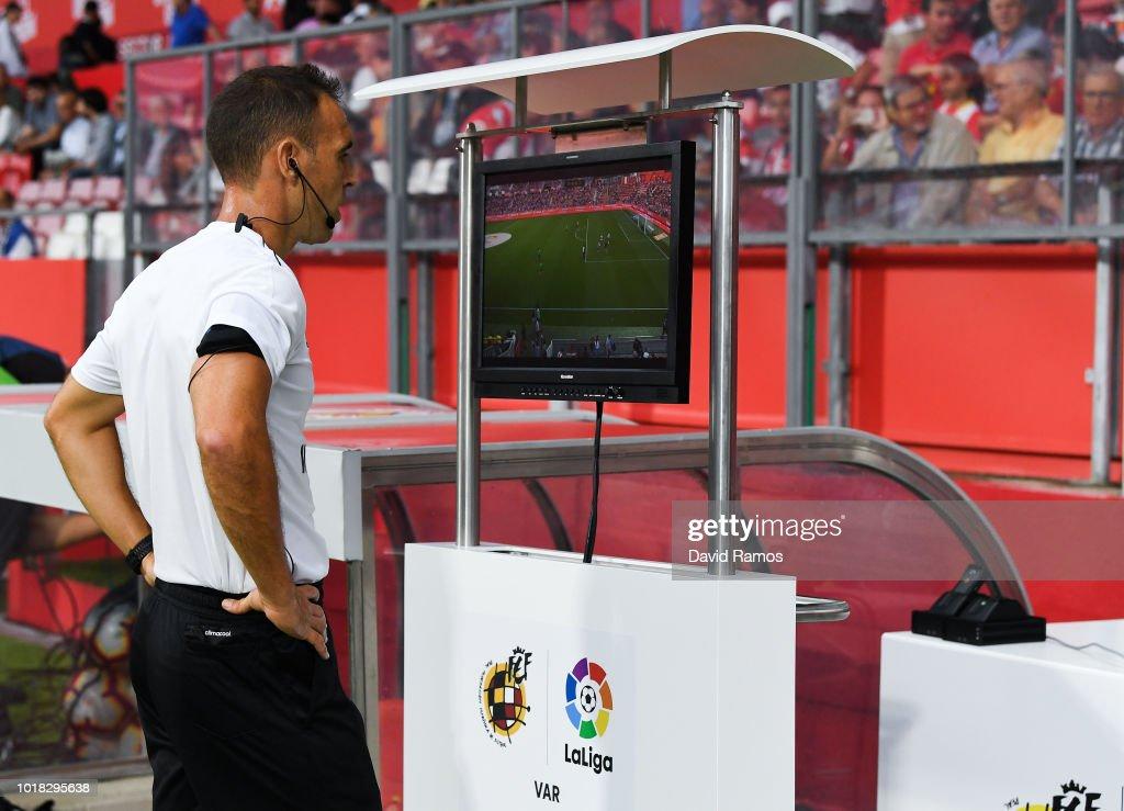 Girona FC v Real Valladolid CF - La Liga : News Photo