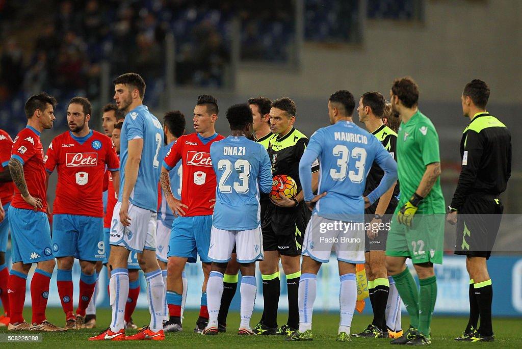 SS Lazio v SSC Napoli - Serie A : News Photo