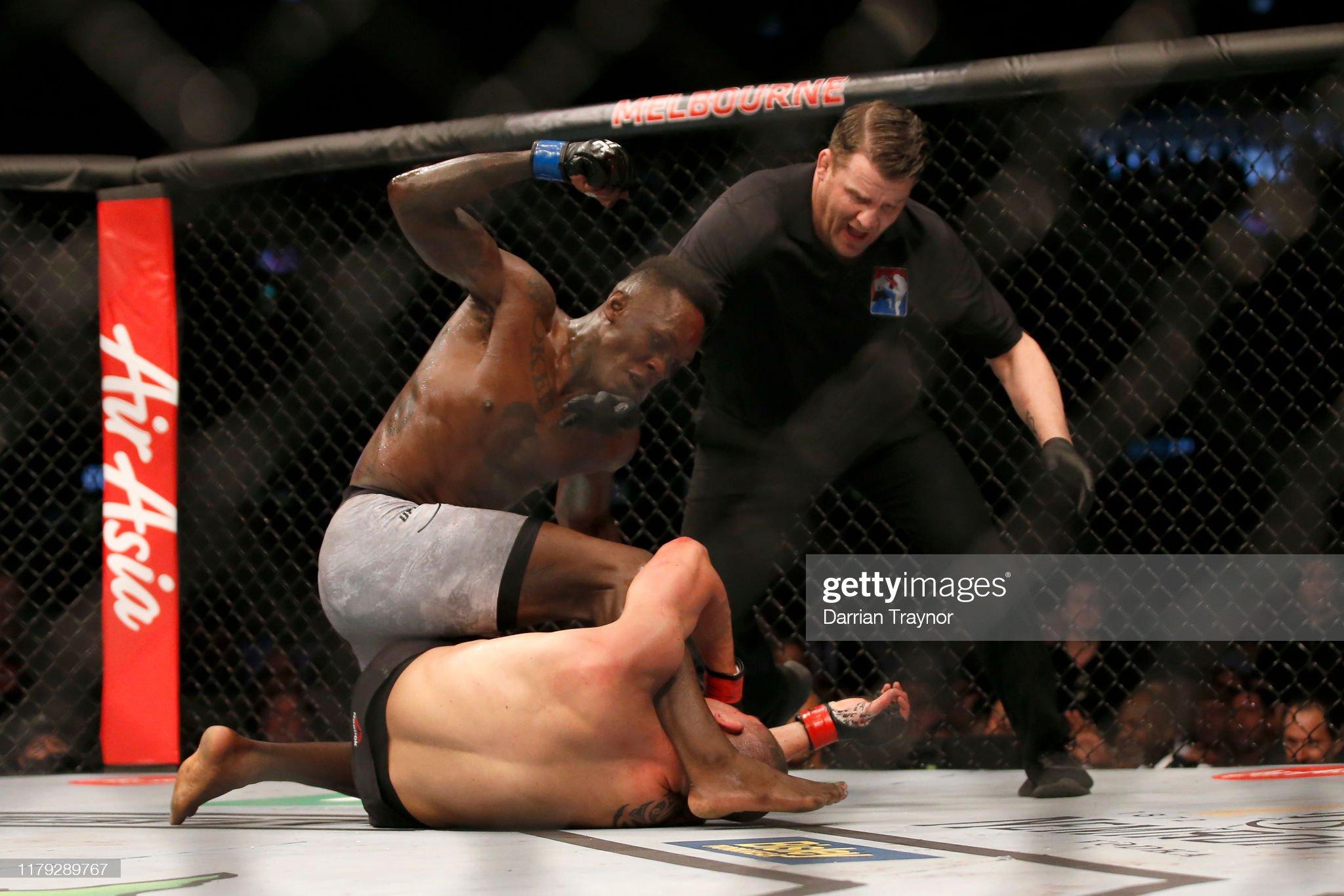 UFC 243 Whittaker v Adesanya : News Photo