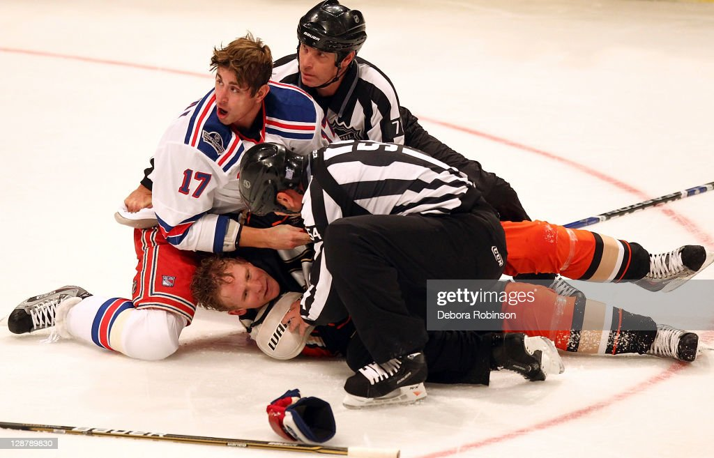 New York Rangers v Anaheim Ducks