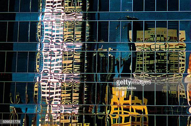 The reflection of one office building in an another in the Sydney CBD on 26 June 1999AFR Generics 990626 AFR Picture by GREG NEWINGTON