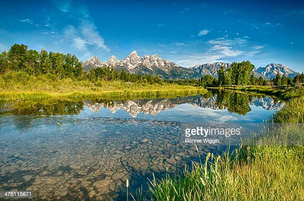 The Reflections of Schwabacher Landing