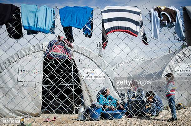 The Refugee Camp in Suruc is just a few kilometers from the border with Libya and the city of Kobane