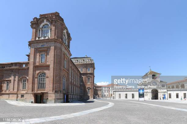 The Reggia di Venaria Reale on June 13 2019 in Turin Italy