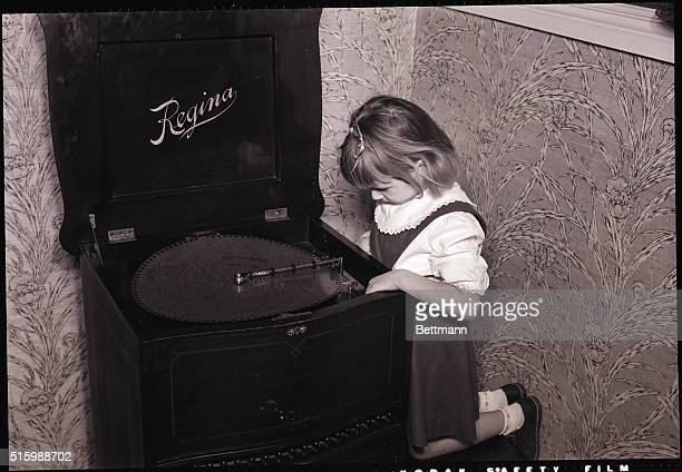 The Regina Music Box, patented in 1889, was the forerunner of the Edison Talking Machine. Records were made out of punched steel disks with each...