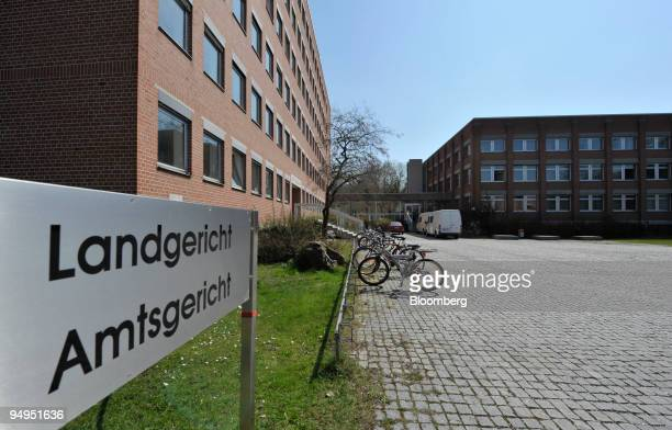 The regional court the site of a shooting stands in Landshut Germany on Tuesday April 7 2009 A 60yearold gunman opened fire in a courtroom in...